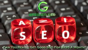 Can You Get Good SEO For $295