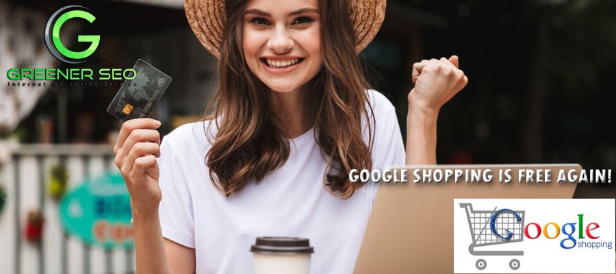 Dispaly Your Products In Google SHopping Free!